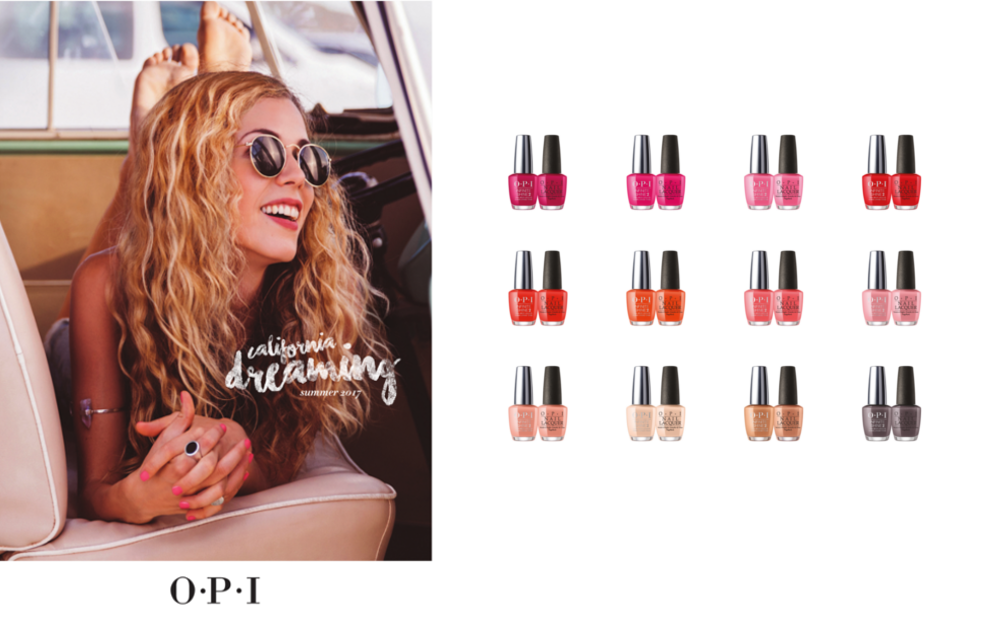 California Dreaming 2017 Collection by OPI