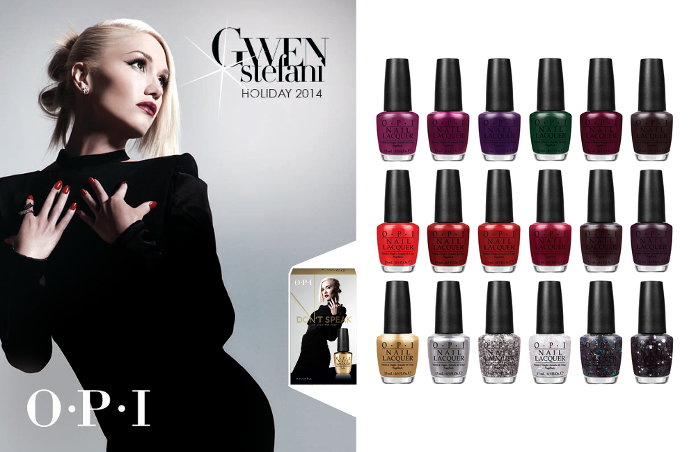 Gwen Stefani Holiday Collection by OPI