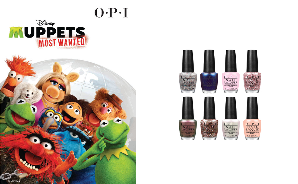 The Muppets Most Wanted by OPI