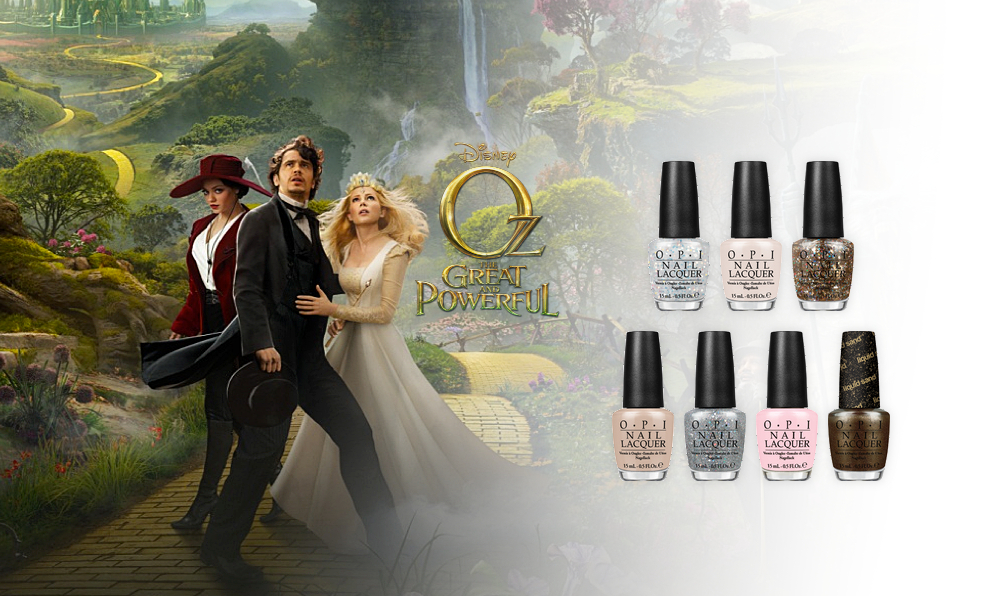 Découvrez la nouvelle collection Oz The Great and Powerful par OPI
