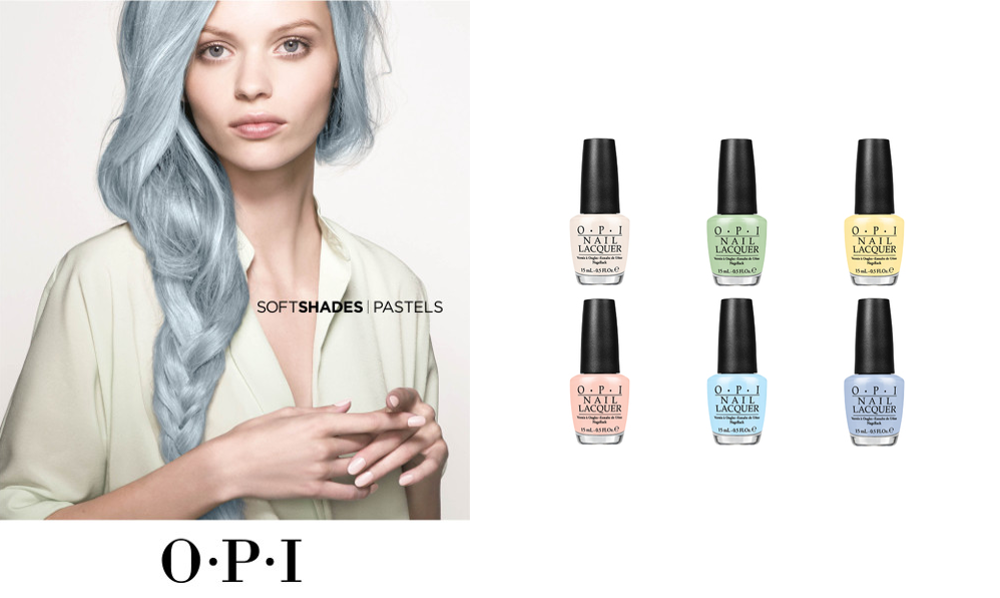 Soft Shades 2016 Collection by OPI